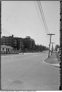 North side of Bloor Street, west of Clendennan Avenue