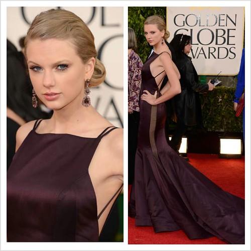 Taylor Swift in Donna Karan Altelier