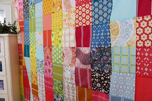 Simple voile patchwork