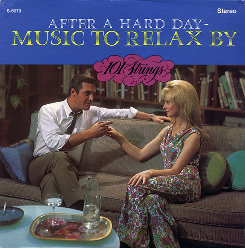 After A Hard Day - Music To Relax By Record Ablum Cover