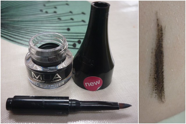 Mon Review MUA gel liner