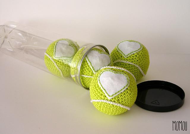 Love tennis balls