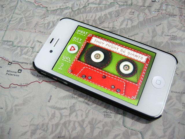 Felt Cassette Tape for TMBG iPhone App
