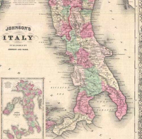 1864 - Nazione Napolitania