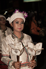 2012-11-28 Thailand Day 10 The annual Loy Krathong Festival and grand parade in Chiang Mai
