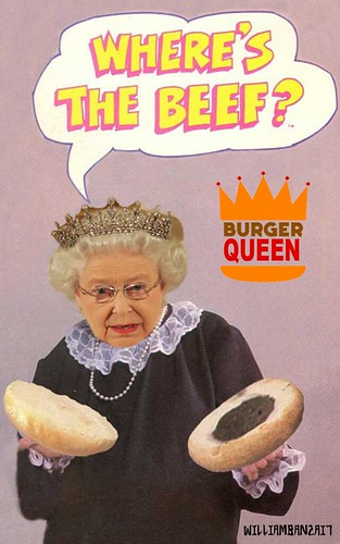 BURGER QUEEN by Colonel Flick/WilliamBanzai7