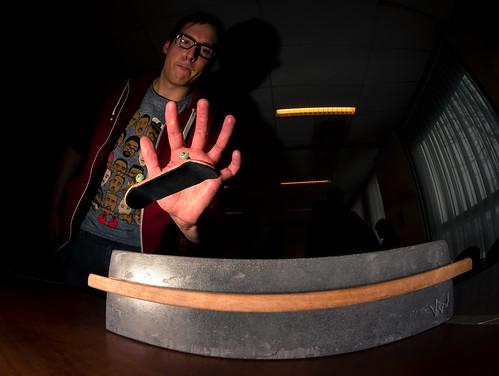 Masters Of Fingerboarding - Stegen - SW Flip 5-0