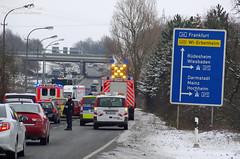 Verkehrsunfall Boelckestraße 25.01.13