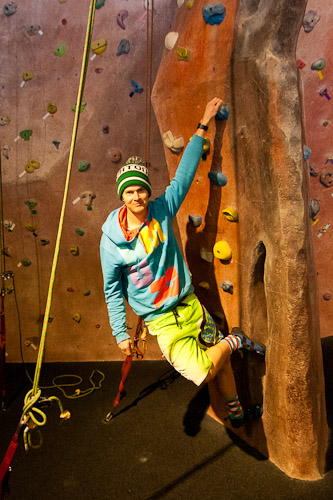 Niseko Climbing wall