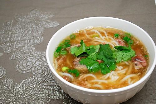 Instant Pot: Asian Beef Noodle Soup