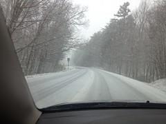 Snow on 52
