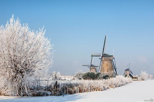 Kinderdijk, exactly one year ago (part II) by BraCom (Bram)