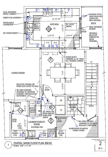 Kitchen 02 New floor plan