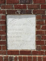 Cornerstone, First Missionary Baptist Church. Biloxi, Mississippi