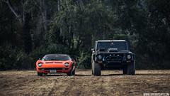 Lamborghini Miura & Lamborghini LM002