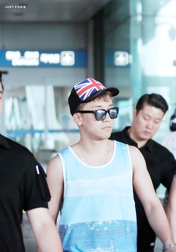 Seung Ri - Incheon Airport - 02aug2015 - Just_for_BB - 10