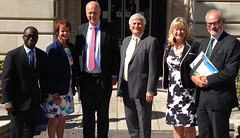 Surrey MPs visit County Hall