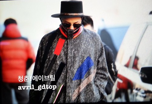Big Bang - Gimpo Airport - 15jan2015 - G-Dragon - Avril - 01