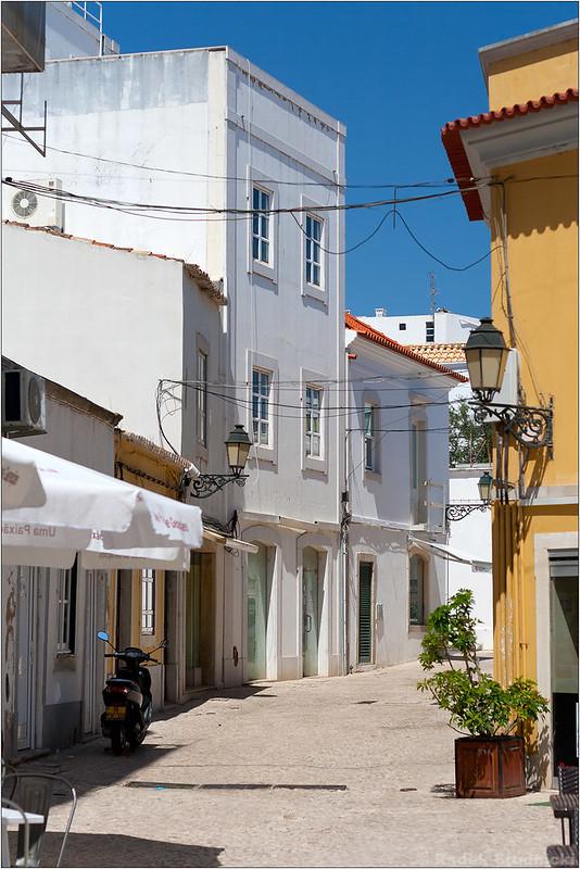Starówka Faro w Portugalii