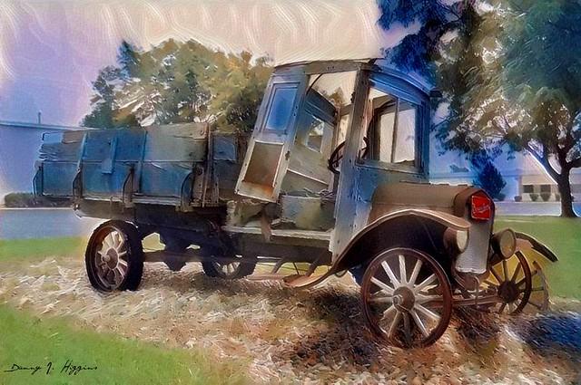 Berma Shave Truck.