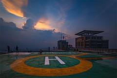 Sunset at the Plaza #sunset #rooftop #theplaza #kemilauindonesia #kemilauphototours #jakarta #indonesia #travel #insta #instagram #natgeo #natgeotravel