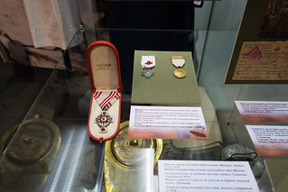 WWI Red Cross service medals