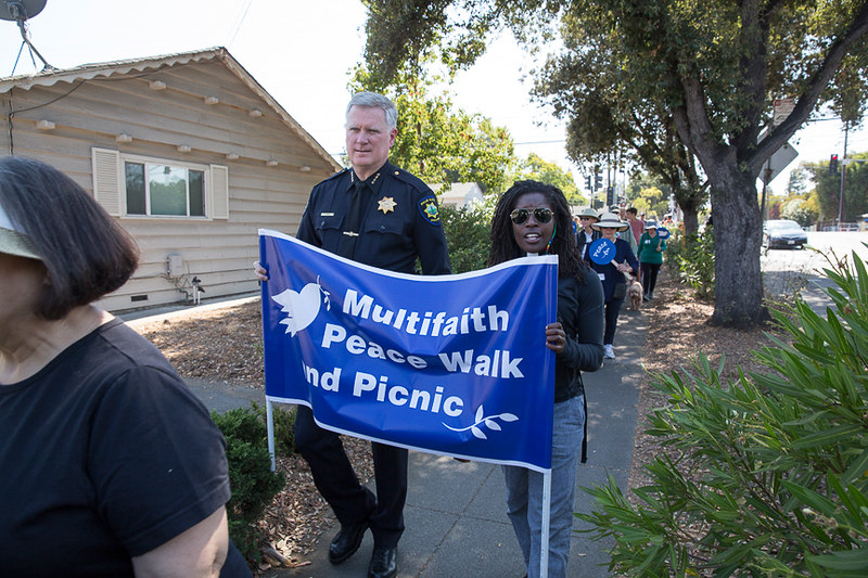 Palo Alto,CA Multifaith Peacewalk  - CNV 2016 (3)