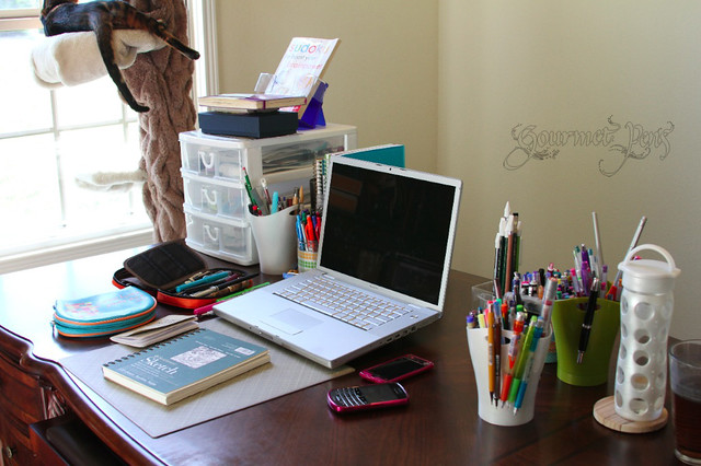 Desk and Pencil Cups