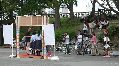 TV shooting