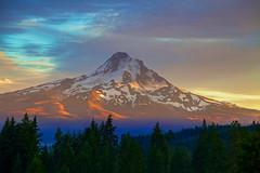 [フリー画像素材] 自然風景, 山, 朝焼け・夕焼け, 風景 - アメリカ合衆国 ID:201210261000