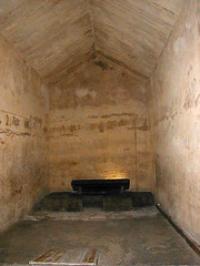 floor, ancient history, building, room, property, air-raid shelter, crypt, flooring,