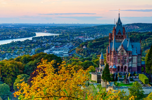 Drachenburg - Dragon Castle - Siebengebirge, Germany