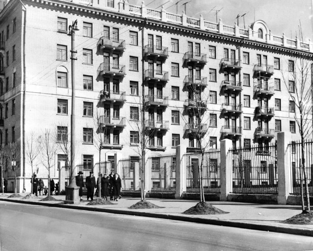 Novopeschanaya str., 13.  April, 1953