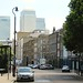 Canary Wharf from Narrow Street