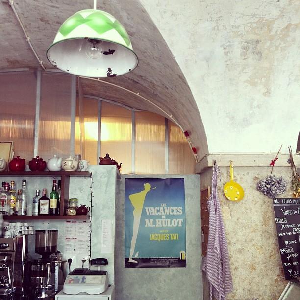 Jacques Tati no Café Tati