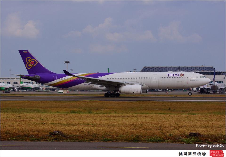 Thai Airways International / HS-TEO / Taiwan Taoyuan International Airport