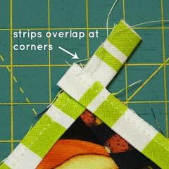 strips overlap