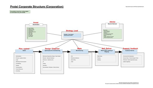 Protei corporate structure