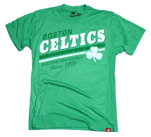 Boston Celtics Pride T Shirt By Sportiqe