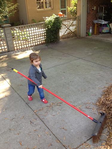 lucy raking 2