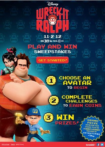 wreck it ralph contest