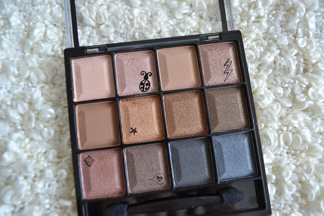 daisybutter - UK Style and Fashion Blog: beauty, review, vivo cosmetics, eyeshadows, AW12, colourblock palette