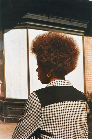 William Eggleston, Untitled (Woman with Afro), New Orleans, LA, circa 1971-74