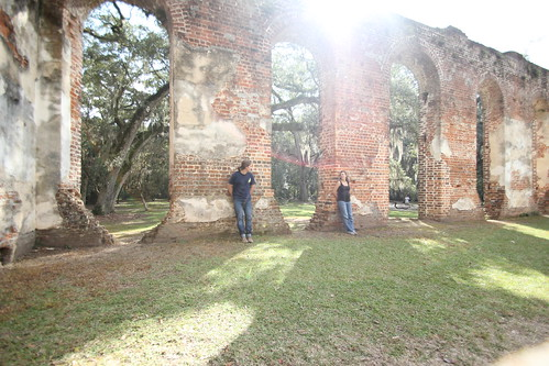 us inside the ruins!