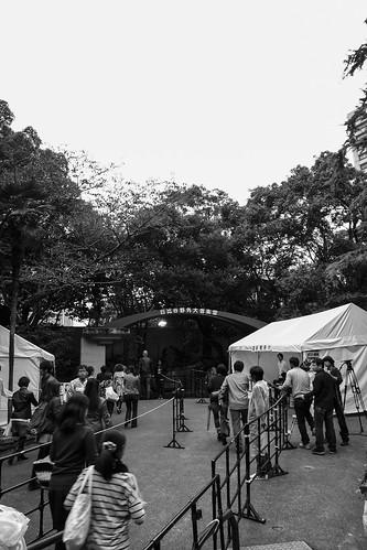 2012年の日比谷野外音楽堂