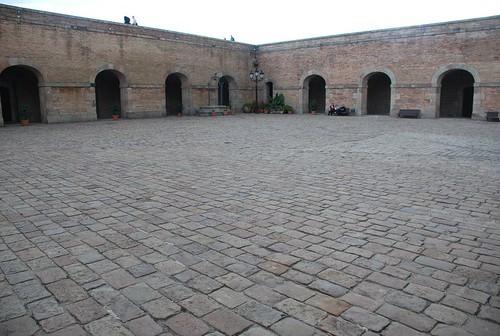 Barcellona - castello di montjuic
