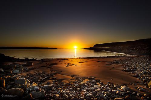 sunset beach iceland shore soe strönd fjara sólarlag sólsetur hphson