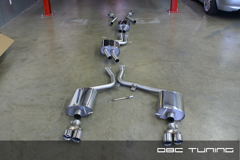 Dbc Tuning 2011 Audi S4 Milltek Resonated Downpipes And