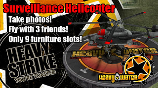 PlayStation Home: Heavy Water Heavy Strike Copter