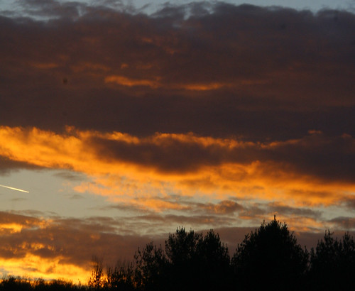 autumn trees light sunset red sky orange fall nature silhouette yellow night clouds digital canon dark landscape photography eos rebel xt colorful flickr vermont leafs vt bluegray pawlet